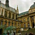 La Sainte-Chapelle depuis le Palais de Justice.