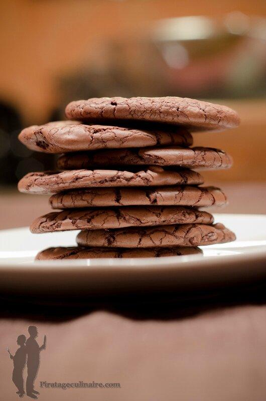 Cookies moelleux au nutella de Piratage Culinaire