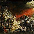 Le dernier jour de Pompéi Karl Brullov