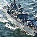 Des appareils américains ont repéré l'entrée de trois <b>navires</b> russes en Syrie
