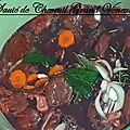 Sauté de chevreuil sauce grand veneur
