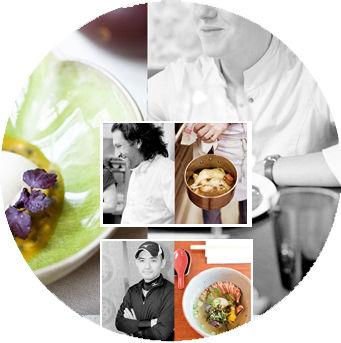 Les chefs / La gastronomie / Les tendances / La gourmandise...