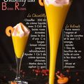 *** veloute carottes / oranges et chantilly baies roses ***