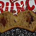 Muffins anglais...au crunch caramel