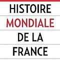 Histoire mondiale de la france cr r. darnton