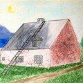 Peintures à l'huile et aquarelle