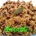 Jamaican red bean rice