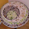 Table mosaïque - fin du projet !