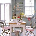 Cuisine shabby pastel {inspirations}