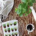 <b>Café</b> ou thé <b>gourmand</b> : les feuilles de menthe enrobées de chocolat noir (recette minceur)