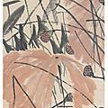 Qi Baishi (<b>1863</b>-1957), Lotus, 1951