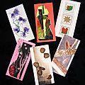 Cartes papier mat récup et déco collages artistiques Ghislaine Letourneur - Création récupération