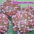 Popcakes pour amoureux...