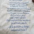 Nouvelle <b>broderie</b>...