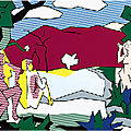 Gagosian Paris exhibition explores styles and movements appropriated by <b>Roy</b> <b>Lichtenstein</b>