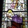 6-église St Christophe sur Dolaizon_détail vitrail