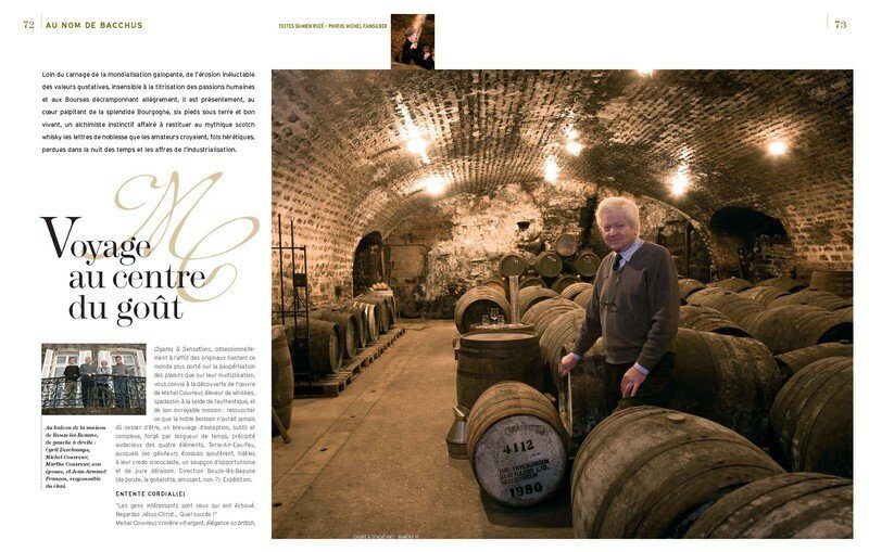 Michel Couvreur- whisky Bourgogne