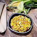 Maïs frais sauté comme chez Bouchéry