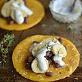 Tacos sucrés {banane-noix de coco & haricots rouges} #vegan