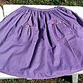 la jupe d'écolière des IPKid