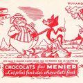 Buvard chocolat Menier