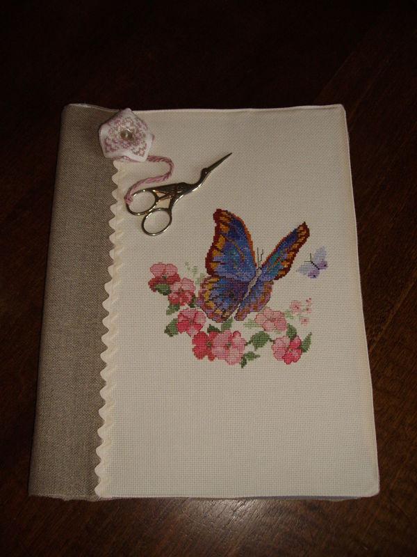 couverture classeur Papillon