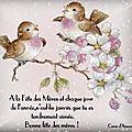 <b>Bonne</b> <b>fête</b> à toutes les <b>mamans</b> du monde