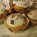 Cup cakes noel