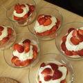 Tiramusi aux fraises