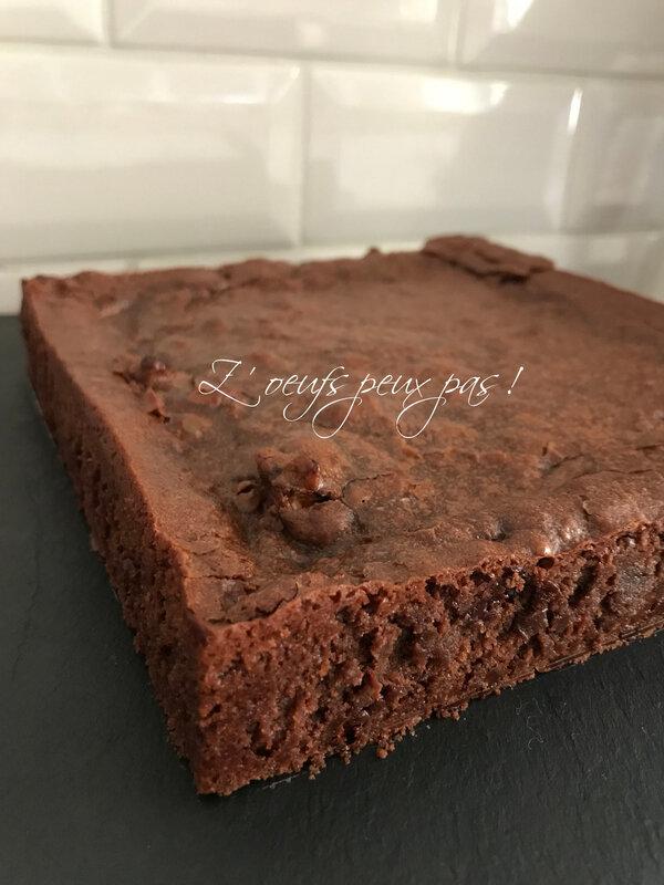 Brownie noix de pécan sans oeufs Z'oeufs peux pas !