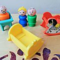 Famille Little People - Fisher Price vintage