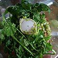 Curry vert de poulet aux herbes et au citron vert