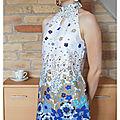 La robe foulard - <b>Dressing</b> <b>Chic</b> <b>revisite</b> les <b>70</b>'<b>s</b>