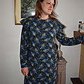 La robe <b>sweat</b> Jasmin Mum - Ikatee couture
