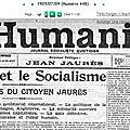 1905 jaurès, la paix et le socialisme