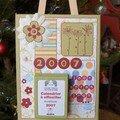 calendrier 2007 pour Jojo et Nono