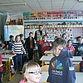 Classe de Madame Niderberger photo souvenir