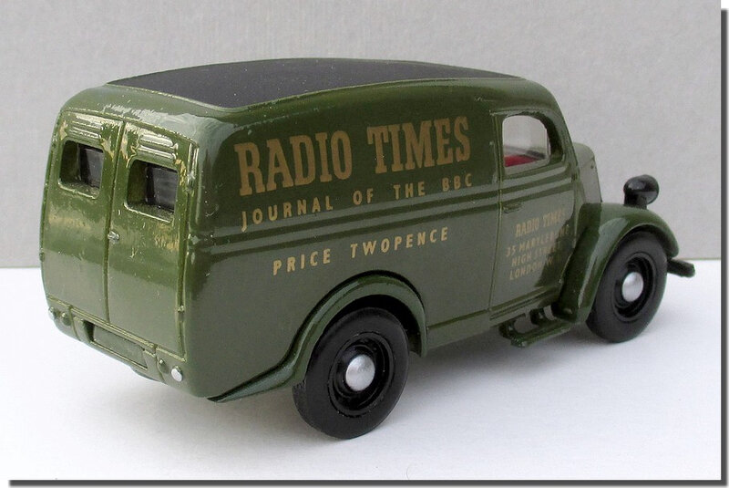 Dinky Matchbox DY-4 Ford E83W Radio Times A 2