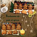 Bonhomme de pain d'épices-gingerbread man