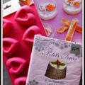 Le colis rose et les yaourts au citron & au gingembre - el paquete rosa y los yogures al limon y al jengibre