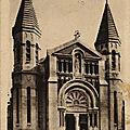 Les cloches de l'église du Sacré Cœur aux Chaprais...