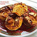 Flans de carottes, chèvre, miel et curry