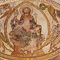 Christ en gloire accompagné des évangélistes ...