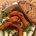Salade Pumpkin et Pesto
