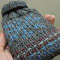 Chaufferette tricotée avec mini tuto