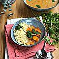 Délicieux bouillon thaï aux légumes, lait de coco et citronnelle {recette #aplv #vegan #igbas }