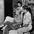 30/09/1954 Sur le tournage de The Seven Year Itch