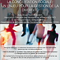 La concertation sociale: un enjeu pour la gestion de la diversité - le 1/04 à bruxelles