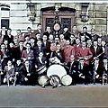 TRELON - La Fanfare Municipale en 1951