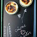 Crème brûlée parmesan oignon